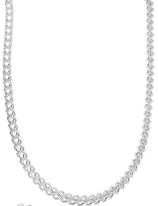 NOF333 - Open Franco Necklace